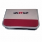 Preview: Stiftetasche leer 2 Kl. Rippstop 20 x 13 x 3,5 cm Take It Easy (TEac26970a)