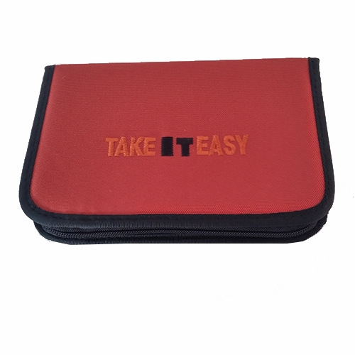 Stiftetasche leer 2 Kl. High Density 20 x 13 x 3,5 cm Take It Easy (TEac26928a)