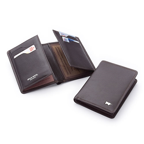 Ausweisetui/Identitycard Holder 9x13cm Golf Braun Büffel (BBgo92447a)