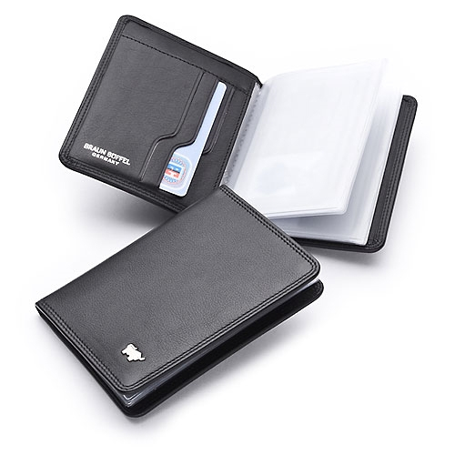 Ausweisetui/Identitycard Holder 6,5x9,5cm Golf Braun Büffel (BBgo92448a)